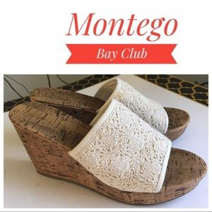 Montego bay club wedge sandals